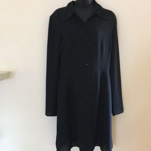 PLANET BEADED COLLAR FITTED COAT/DRESS